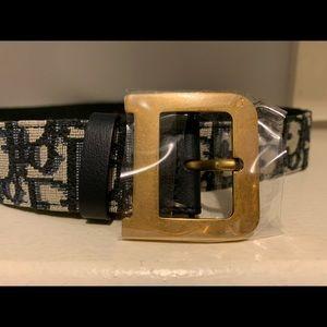 Dior Oblique belt